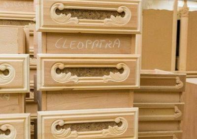 cleopatra šuplíky