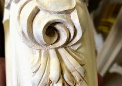 flora stôl noha