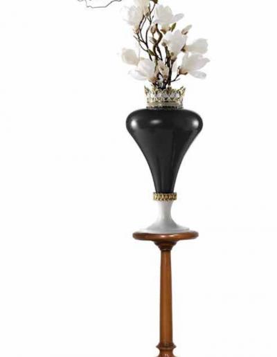 rustikálny stojan na kvety 350x350x750