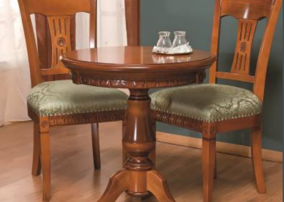 stôl okrúhly mini VENETIA 700x700x750